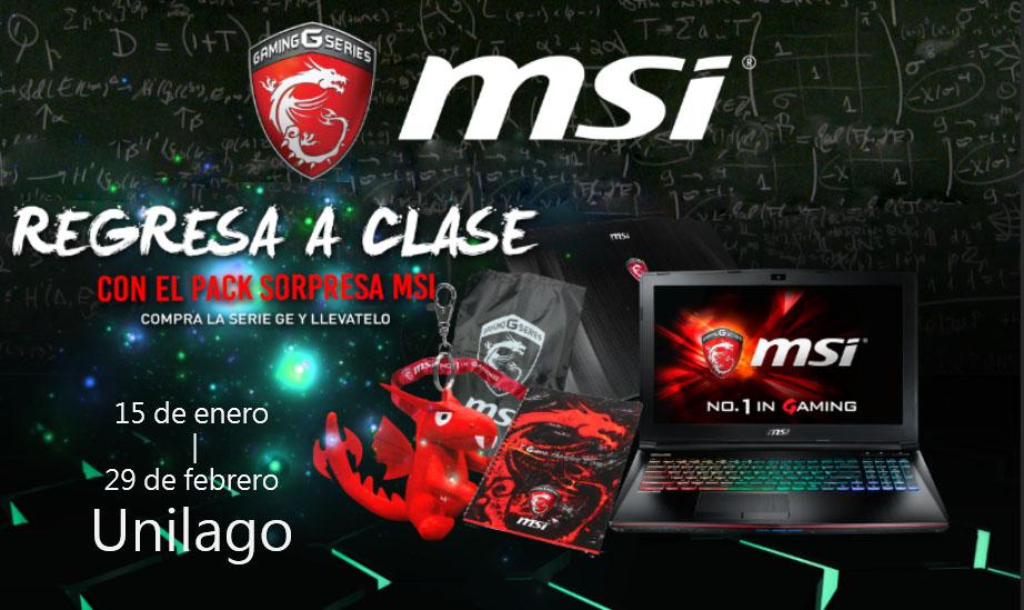 Regresa a Clases junto a MSI