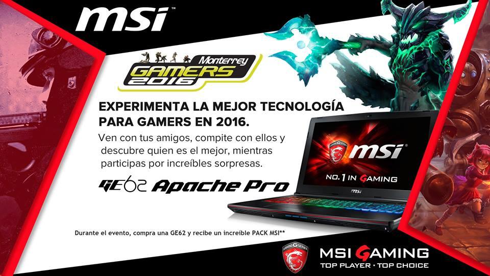Monterrey Gamers 2016