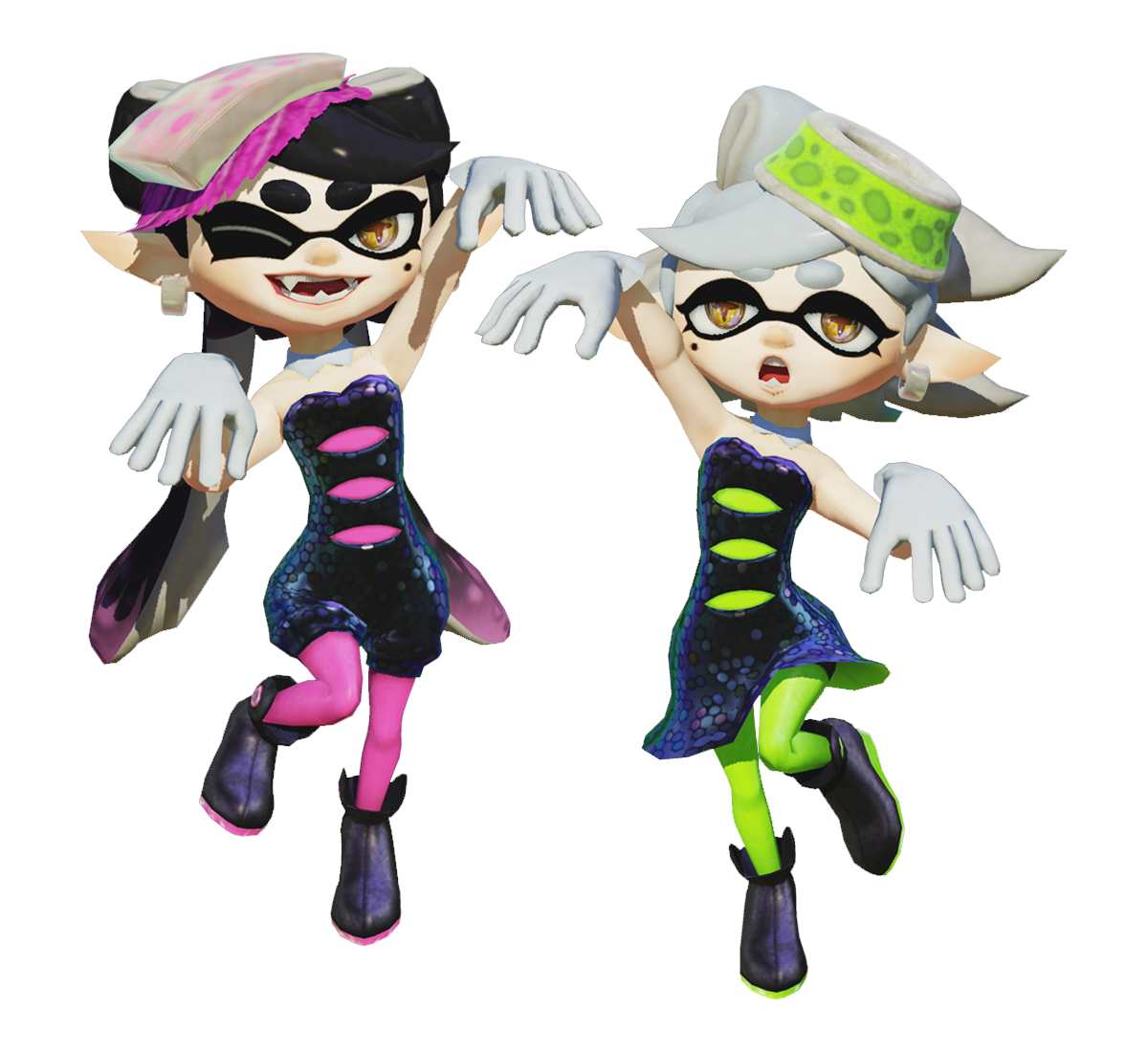 Las Squid Sisters anunciadas como Amiibos