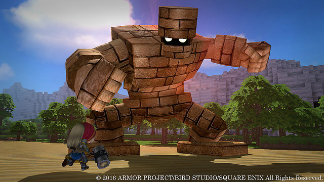Dragon Quest Builders llegará en octubre