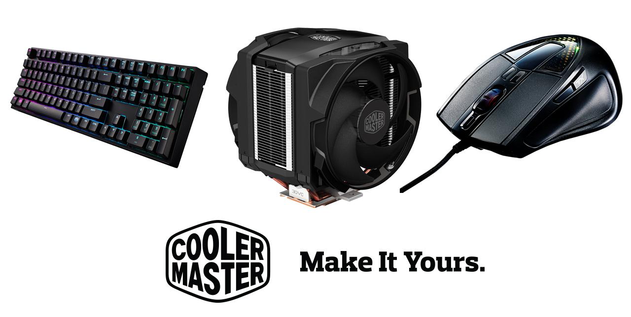 Cooler Master trae sus productos para Colombia